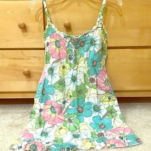 LIMITED TOO brand new floral tunic top
